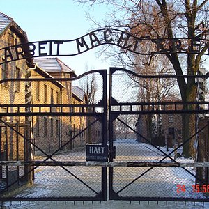 Self guided tour in Auschwitz from Katowice