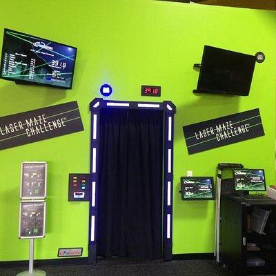 Lazer Maze Entrance