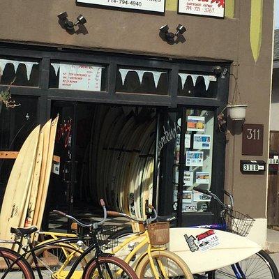 Surfboard and Bike Rentals Huntington Beach