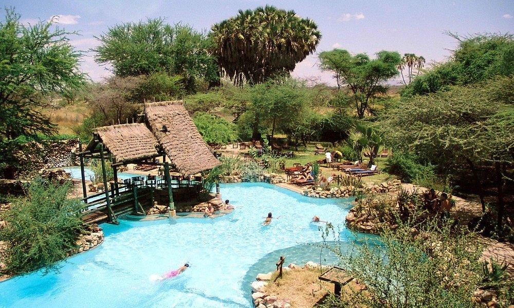 Sarova Shaba Lodge pool