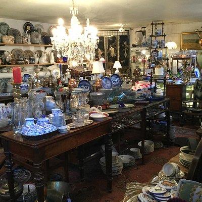 GB-Antiques - quaint small antique shop behind Glyptoteket and Tivoli