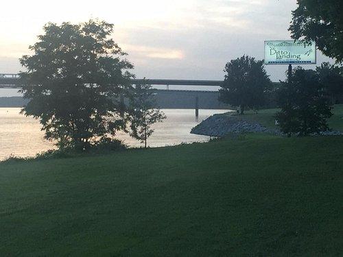 From Walking Path to Hwy 231 Bridge