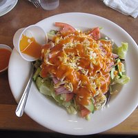 Large Chef's Salad....LOADED   and FRESH