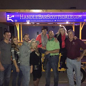 Our Night Out on The HandleBar Scottsdale - So Much Fun!!!