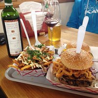 Fries Royale (foie gras on fries in Dundee)