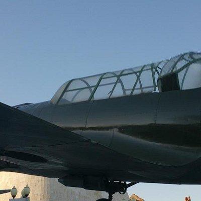 Airplane Su-2 Monument