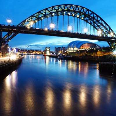 View of The Tyne Bridge from the Swing Bridge
