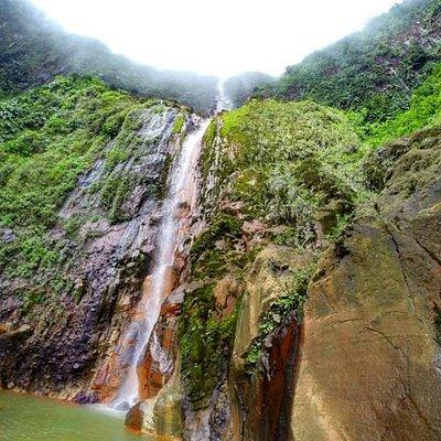 Upper falls. 410 ft drop.