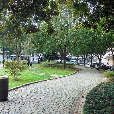 Jardim da Praça da Rainha D. Amélia