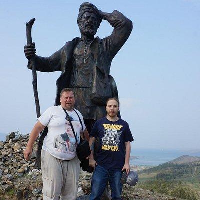 Бродяги на берегу Байкала