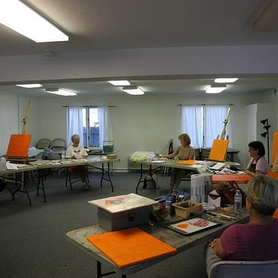 Class are taught at the Art Education Annex of WCAC ©Mary Montague Sikes