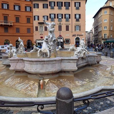 Neptune's Fountain on Piazza Navona