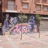 Graffiti nearby