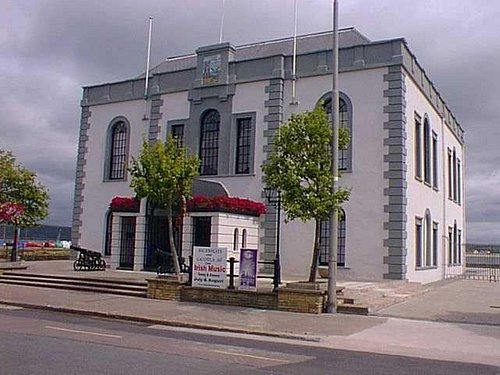 The Mall Arts Centre building erected in 1753 is an historic part of Youghal with many functions