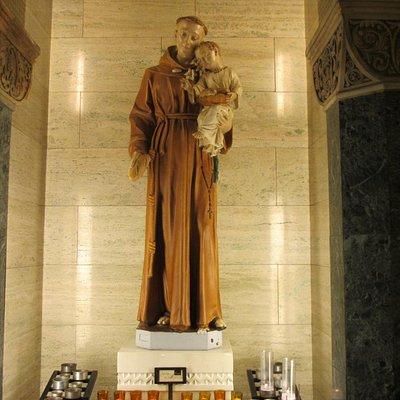St Anthony at St Patrick's Church
