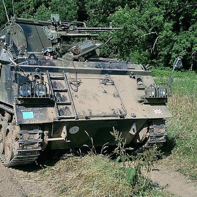 driving at Tank School