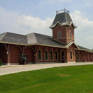 The museum is visible from Highway 26.  Its a great place to explore!