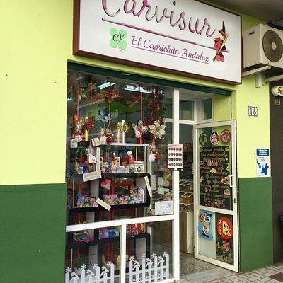 Fachada Carvisur El Caprichito Andaluz