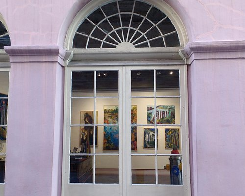 Art through the window