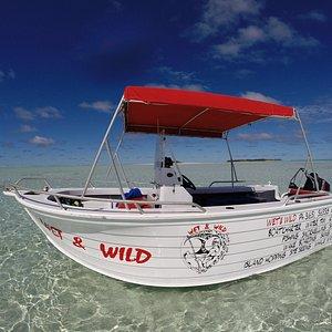 Clearest waters and bluest skies, Wet & Wild Aitutaki