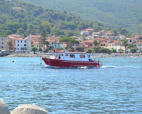 Departure from Marciana Marina