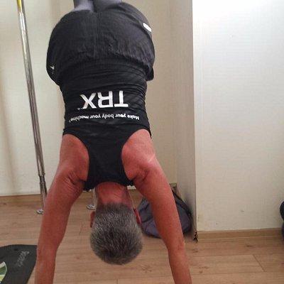 exercising on Saturday morning