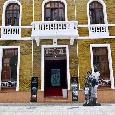 La Casa Amarilla, antiguo Cabildo de Lanzarote, Arrecife, fachada
