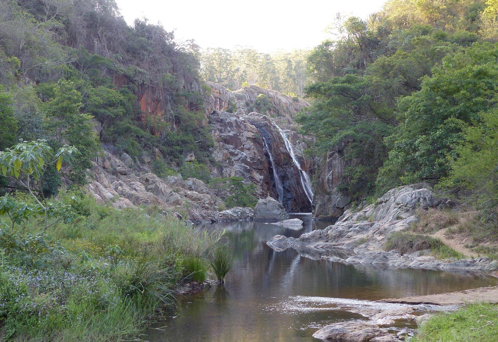 Watervallen van Mantenga