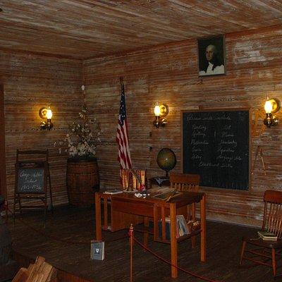 Historic Camp Walton Schoolhouse - Interior