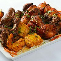 The truly world famous Masti mixed grill