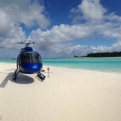 Tupai, la plus romantique des îles uniquement accessible avec Tahiti Helicopters