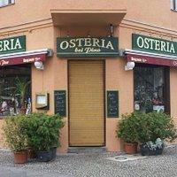"""Die """"Osteria Da Pino, Willdenowstr./Triftstr. im Wedding"""