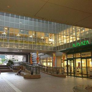 東館2階 ここから醍醐寺に行く道があります