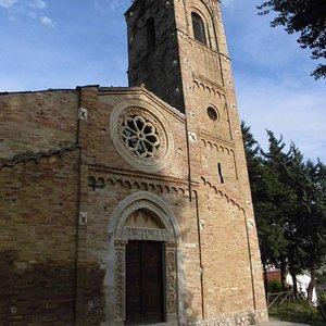 Die Kirche Santa Maria Maggiore von außen