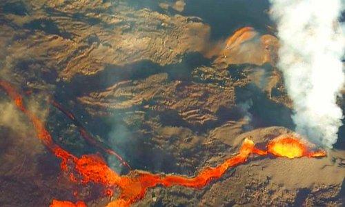 Eruption  octobre 2015
