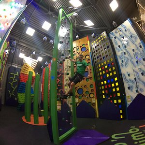 Climbing walls meet theme park in an exciting new leisure concept for all ages,