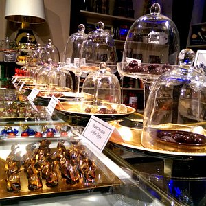 A wide selection of gourmet chocolates