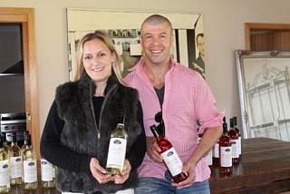 Owners Justine and Damien Monley