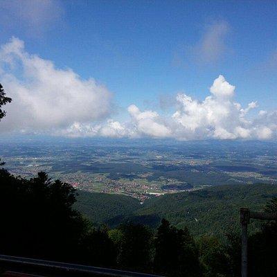 Medvednica mountain (Sljeme)