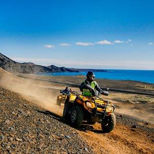 Panorama ATV safari