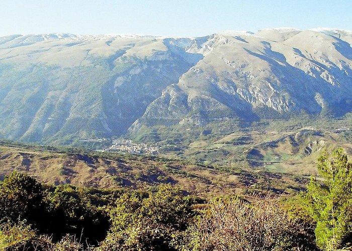 Vista della Maiella