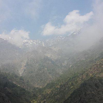 Vista hacia los cerros