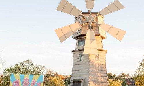 新旭風車村公園の風車