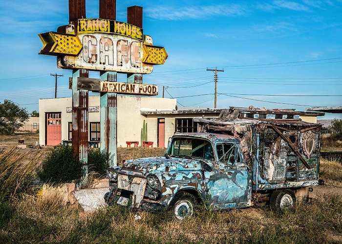 Typical scene in Tucumcari NM