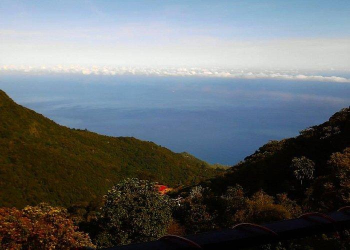 El mar desde Galipan.
