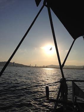 Sunset cruise sthan sailing