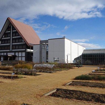 展示館と温室