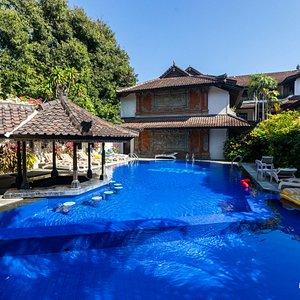 The Main Pool at the Ari Putri Hotel