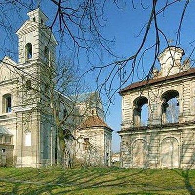 Троицкий костел в Берестечко