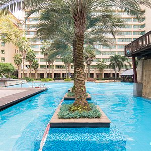 The Pool at the Dongfang Hotel